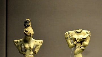 Terracotta Female Figurines from the Ubaid Period
