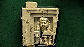 Woman at the Window Ivory from Nimrud