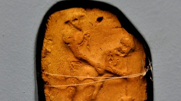 Erotic Terracotta Plaque