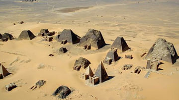 The Pyramids of Meroe