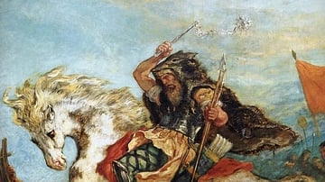 Attila the Hun in Battle