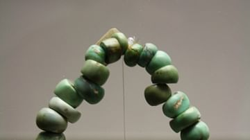 Neolithic Variscite Necklace