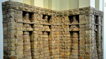 Facade of Inanna's Temple at Uruk