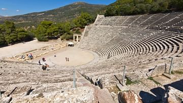 Theatre of Epidaurus Panorama