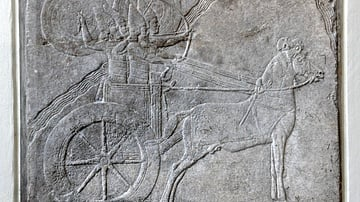 Hamanu campaign on Ashurbanipal's wall relief