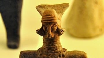 Votive Statuette from the Archaic Buildings of the Ishtar Temple