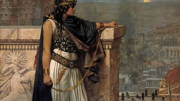 Queen Zenobia's Last Look Upon Palmyra