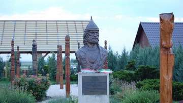 Bust of Attila the Hun