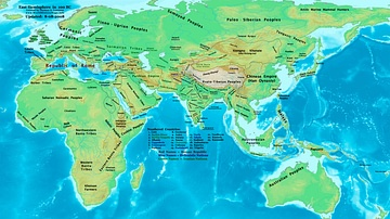 The Eastern Hemisphere, 100 BC