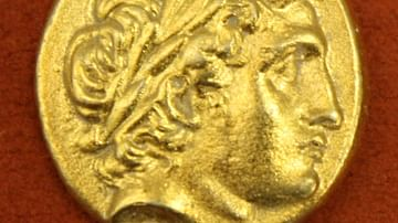 Apollo, Macedonian Gold Stater