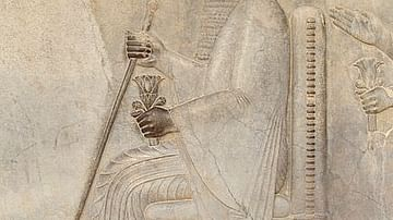 Relief of Darius I from Persepolis