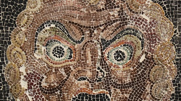Theatre Mask Mosaic