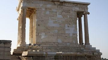 The Temple of Athena Nike: A Small Shrine Dedicated To One of Athena's Many Incarnations