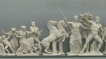 West Pediment of the Parthenon (Reconstruction)