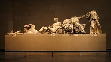 East Pediment of the Parthenon