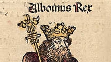 Alboin from the Nuremberg Chronicle