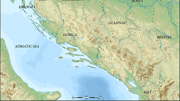 Map of Prehistoric Illyria