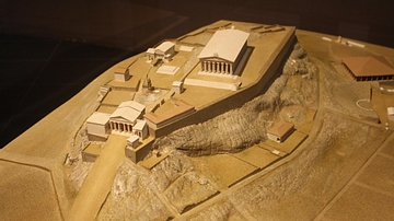 Model of Athens' Acropolis