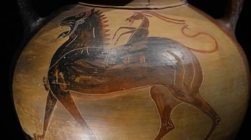 Chimera, Black-Figure Amphora