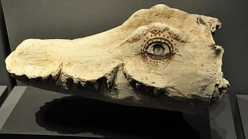 Crocodile Mummy Mask