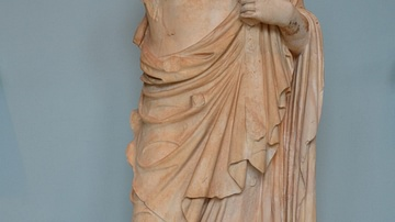 Antinous as Asclepius from Eleusis