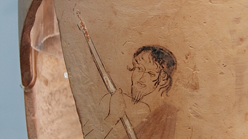 Lekythos Depicting Charon