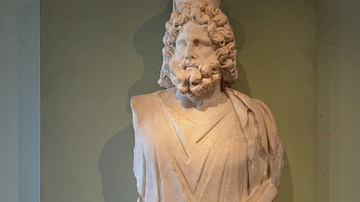 Serapis Depicted as Pluto