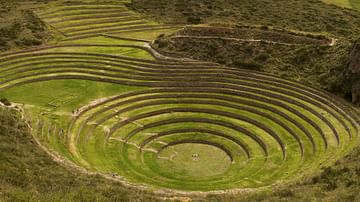 Inca Agricultural Terracing