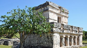 Temple of the Frescoes, Tulum