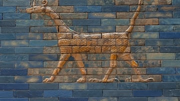 Dragon from the Ishtar Gate