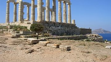 Temple of Poseidon, Sounion, Greece