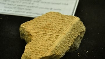 Fragment of an Assyrian Prism