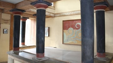 Palace of Knossos, Crete