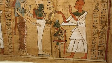 Book of the Dead of Aaneru, Thebes