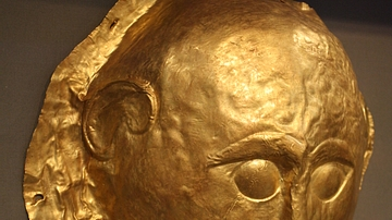 Gold Death Mask, Mycenae