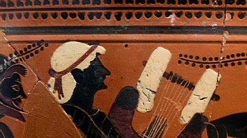 Detail of Kithara Strings