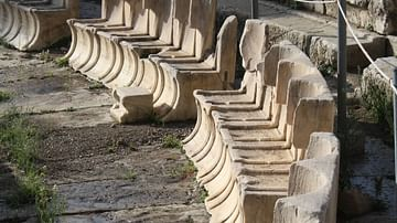 Seats of the Theatre of Dionysos, Athens