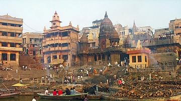 Manikarnika Cremation Ghat, The Ganges