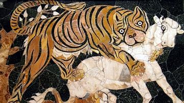Tiger Panel, Basilica of Junius Bassus