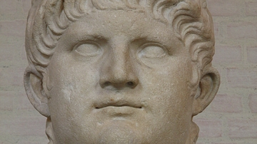 Colossal head of Emperor Nero