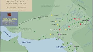 Major Indo Iranian Neolithic Sites & the Indus Civilization