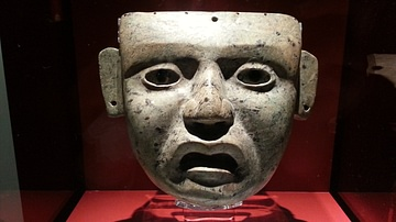 Teotihuacan Style Mask