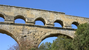 Arches, Pont Du Gard, France