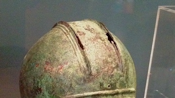 Illyrian Helmet from the Battle of Plataea