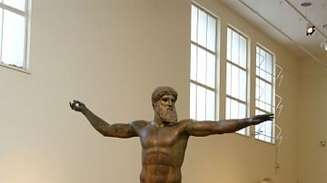 Zeus or Poseidon from Cape Artemesium