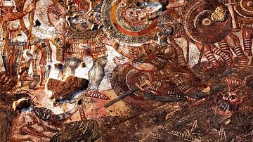 Battle of Hydaspes mosaic