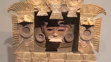 Teotihuacan Incense Burner