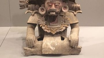 Zapotec Priest Figure