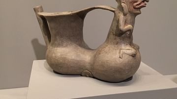 Zapotec Double-chambered Vessel