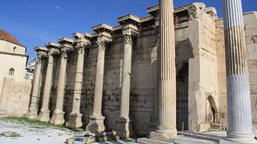 The Library of Hadrian, Athens